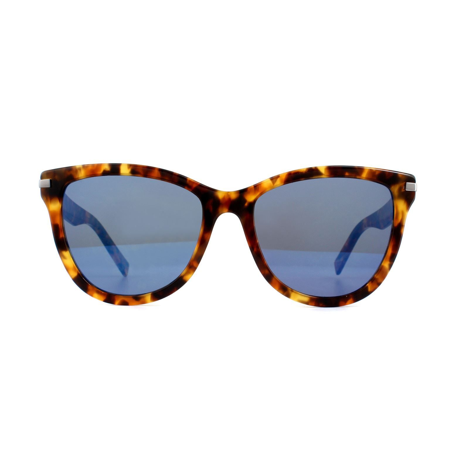 Marc Jacobs Sunglasses MARC 187/S C9B XT Havana Honey Blue Mirrored