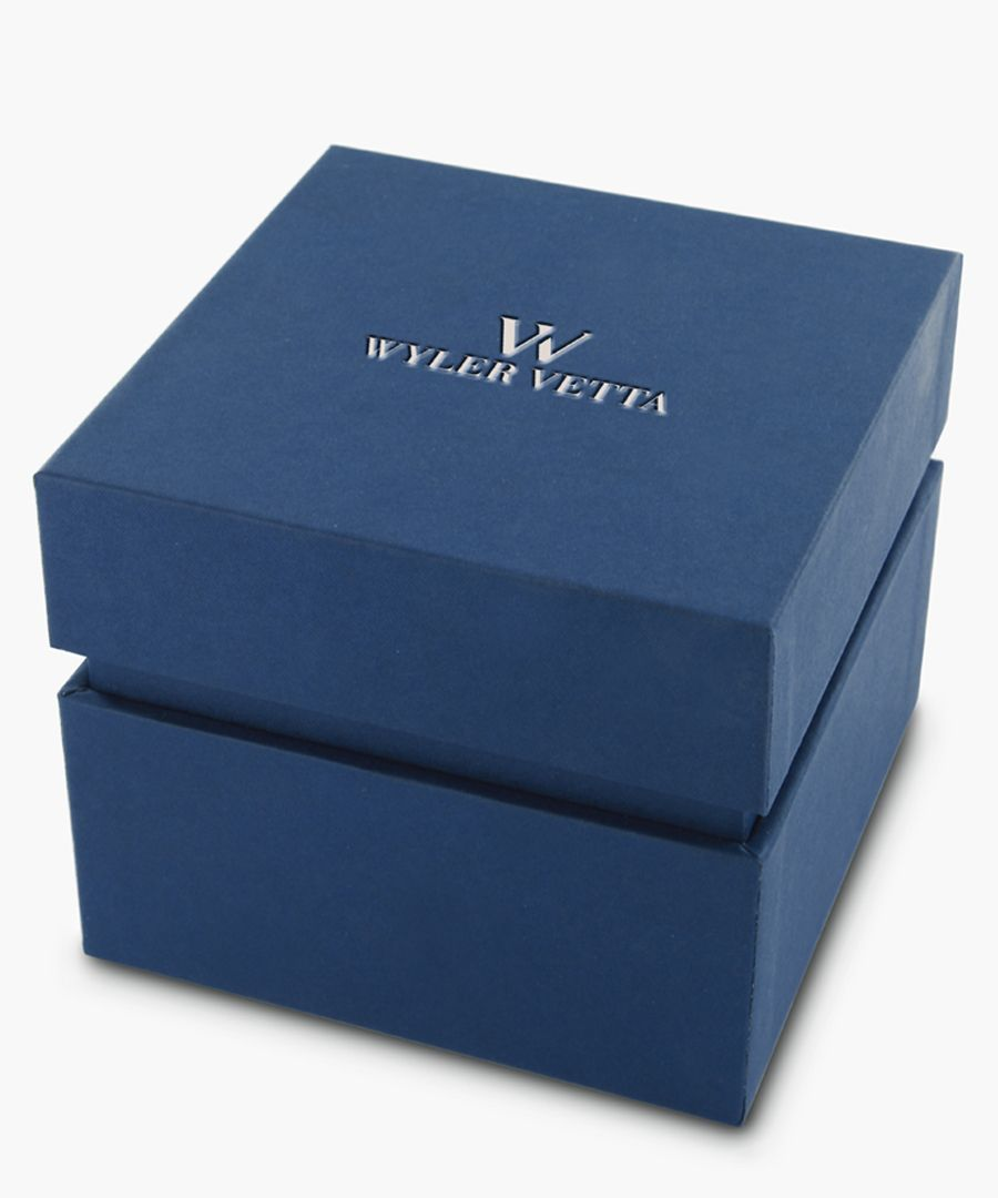 Opera light blue stainless steel watch