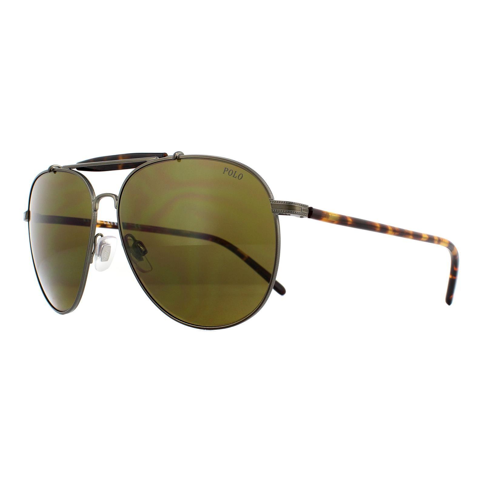 Polo Ralph Lauren Sunglasses 3106 932773 Aged Bronze Olive