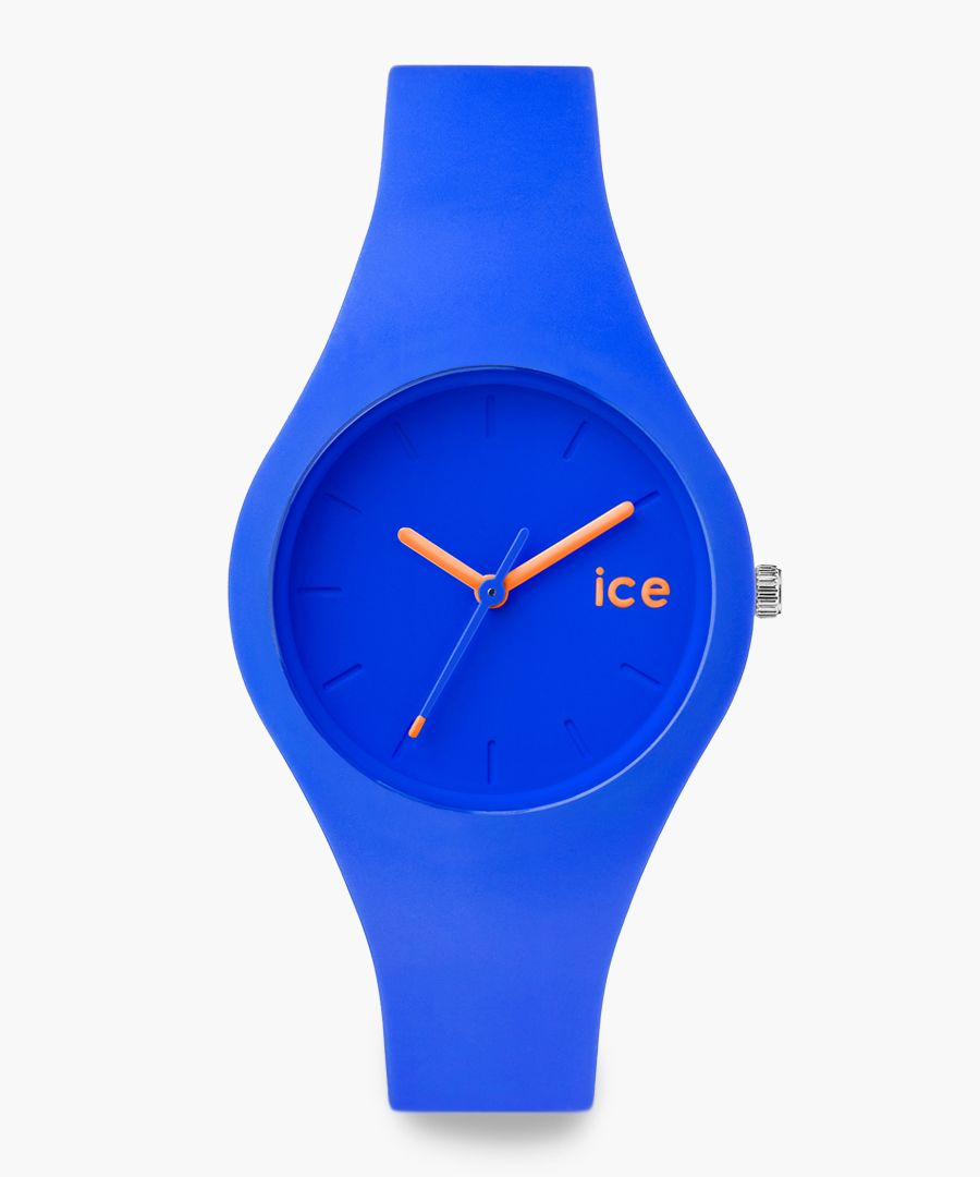 Blue small watch
