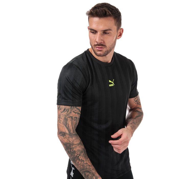 Men's Puma XTG T-Shirt in Black