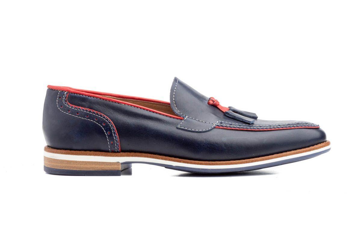 Montevita Comfortable Loafer in Blue