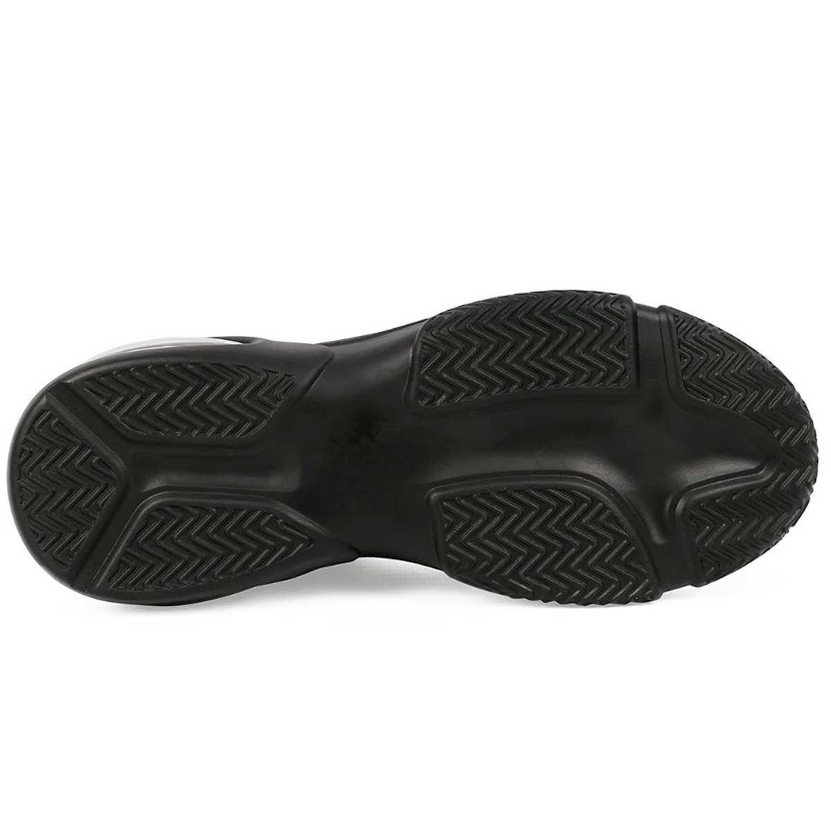 Montevita Chunky Sole Sneaker in Black
