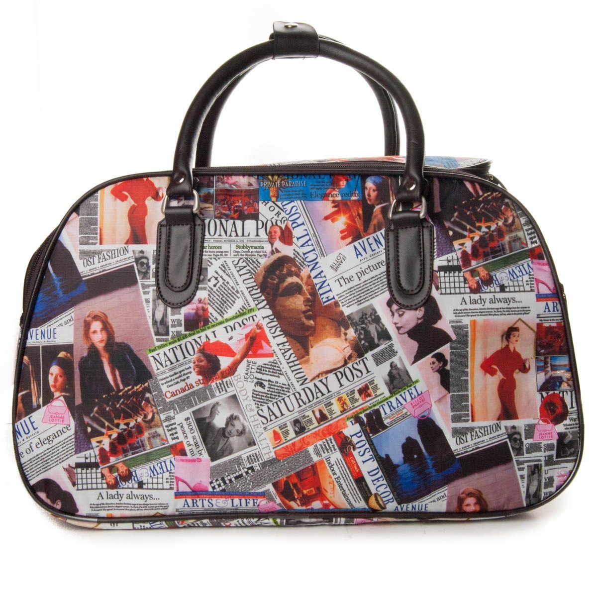 Montevita Fashion Travelbag in Black