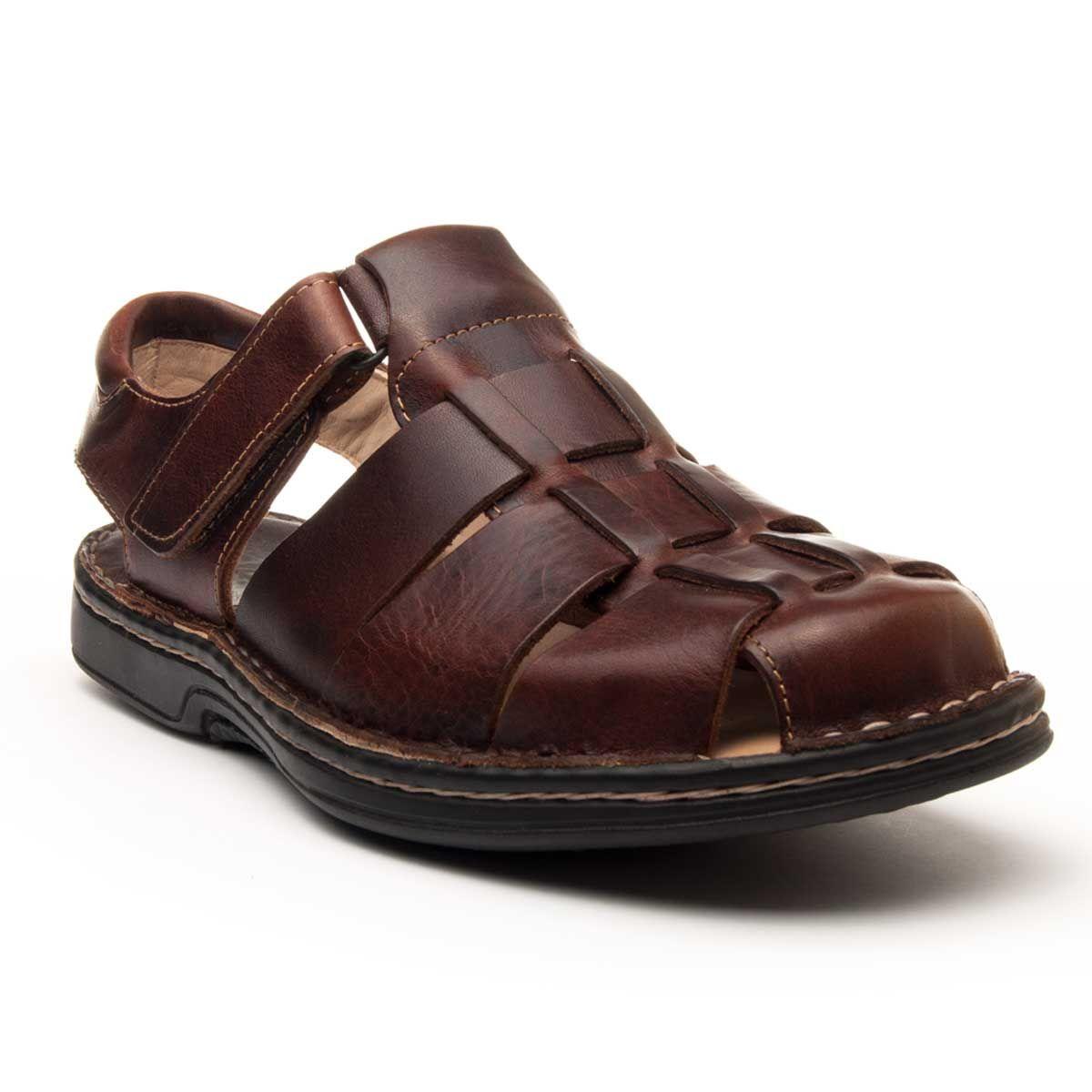 Purapiel Comfortable Sandal in Brown