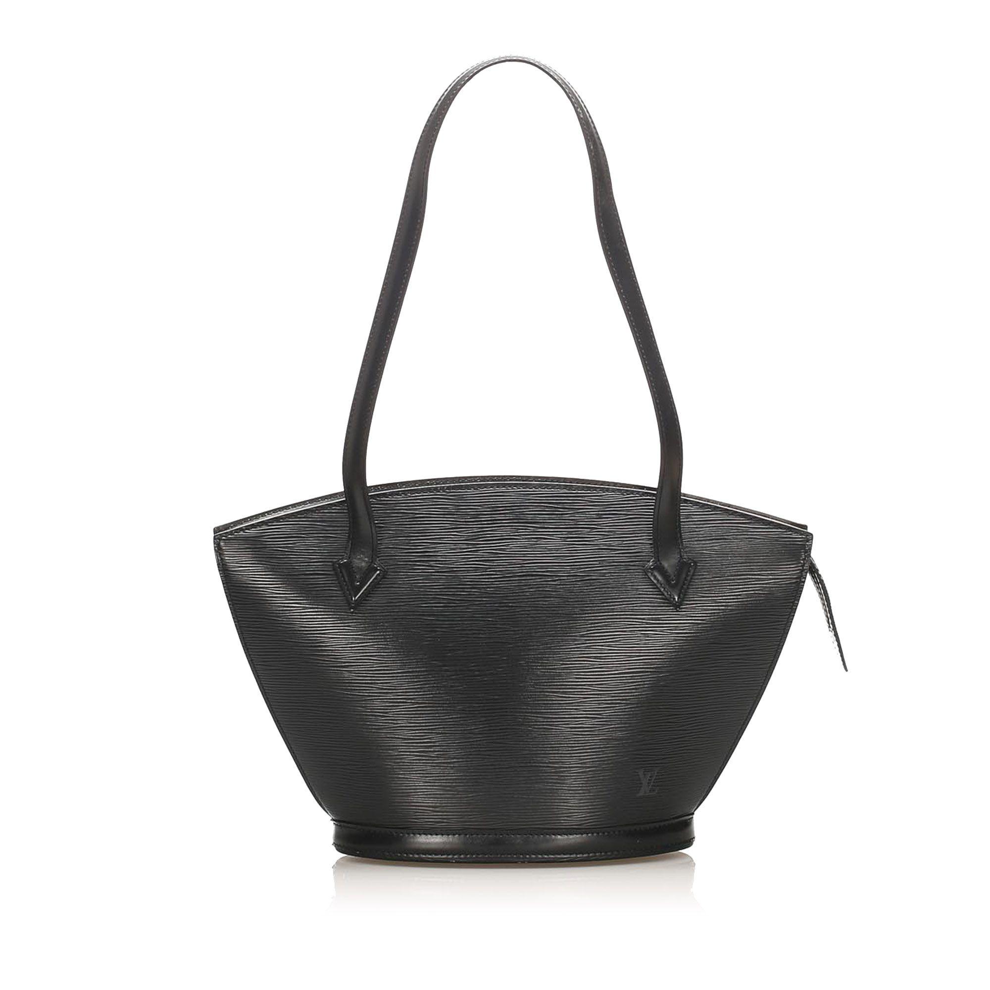 Vintage Louis Vuitton Epi Saint Jacques Long Strap PM Black