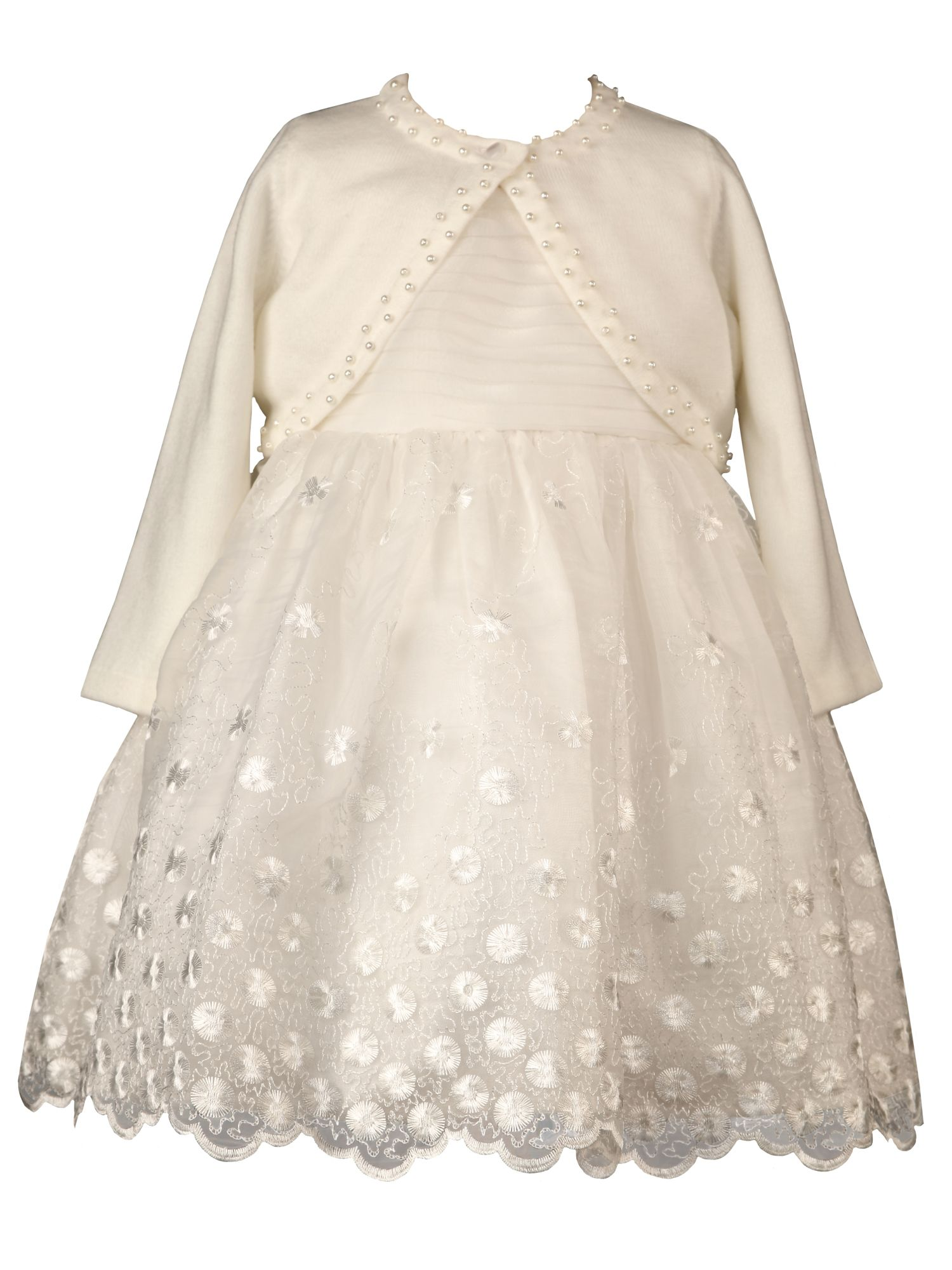 Baby Special Occasion Dress and cardigan