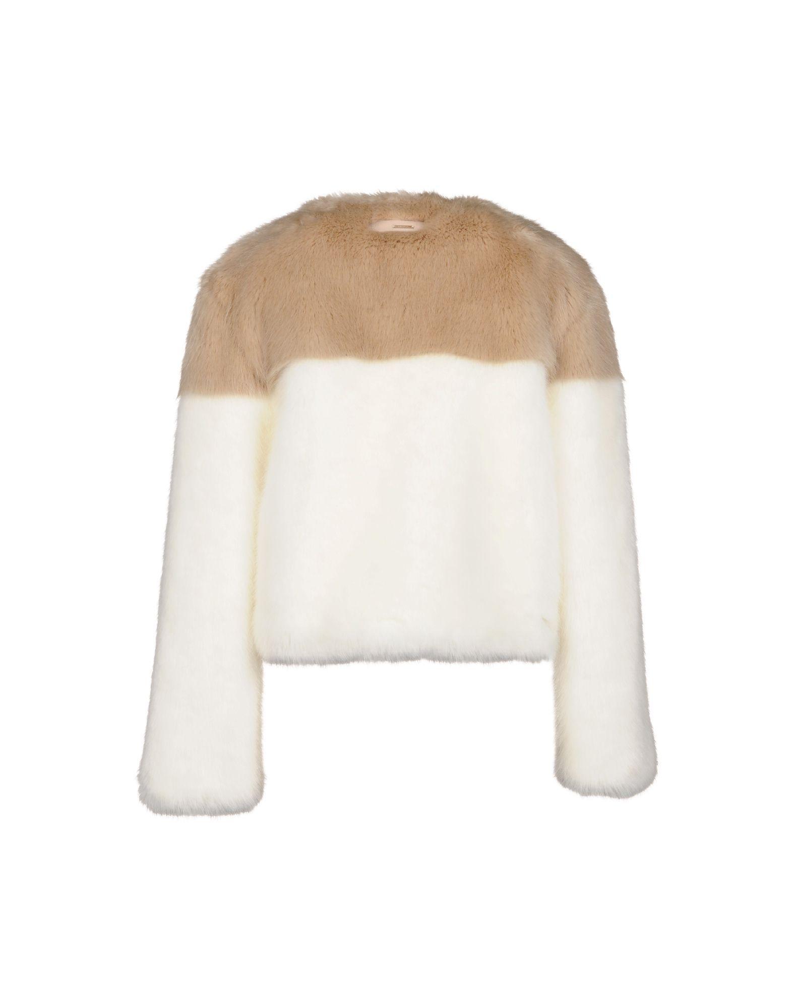 Dondup Women's Teddy Coat Modacrylic