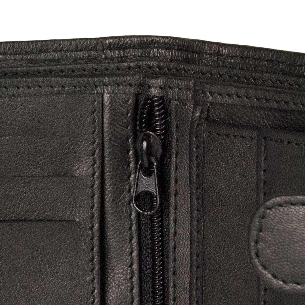 Montevita Leather Wallet in Black