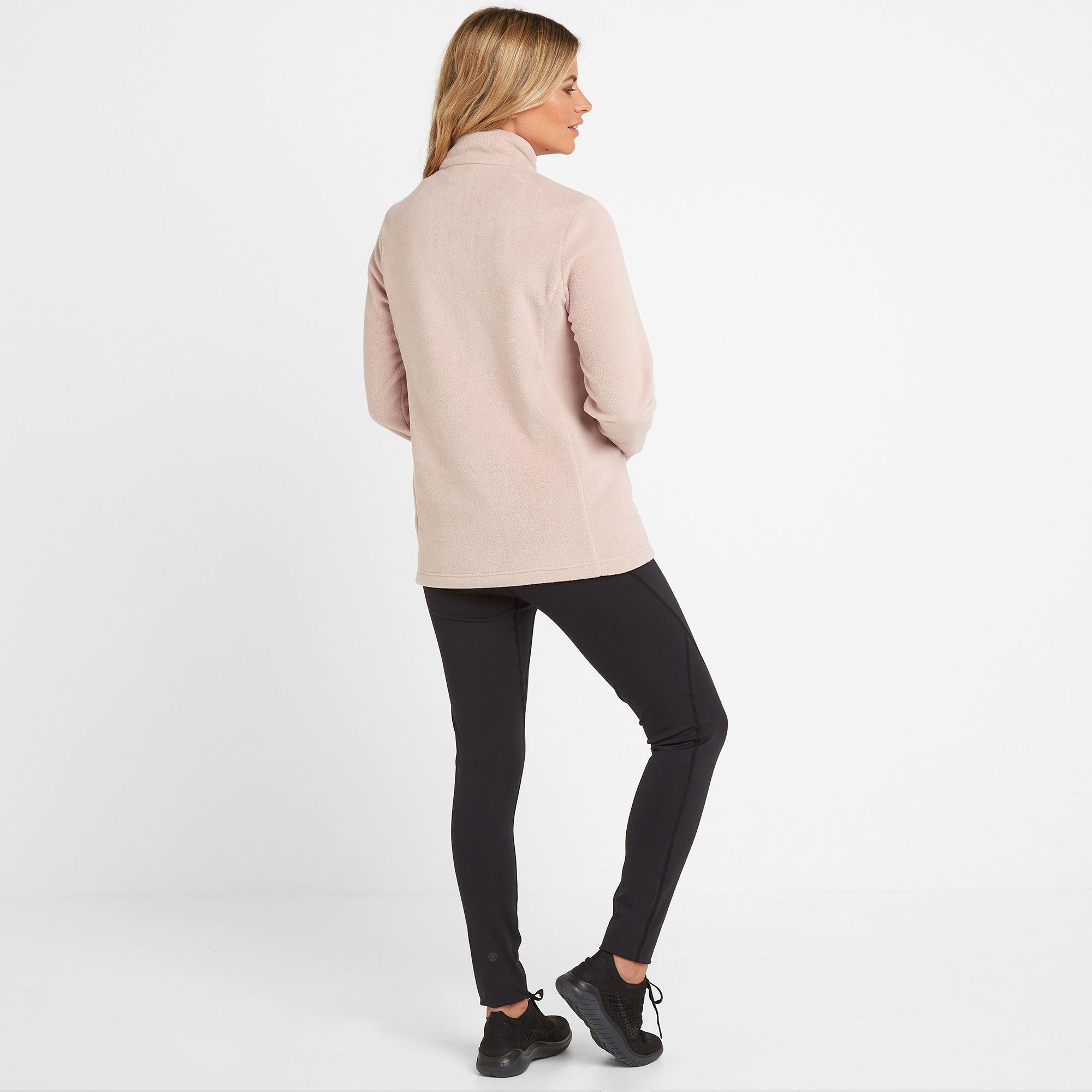 Shire Womens Fleece Jacket Dusky Pink
