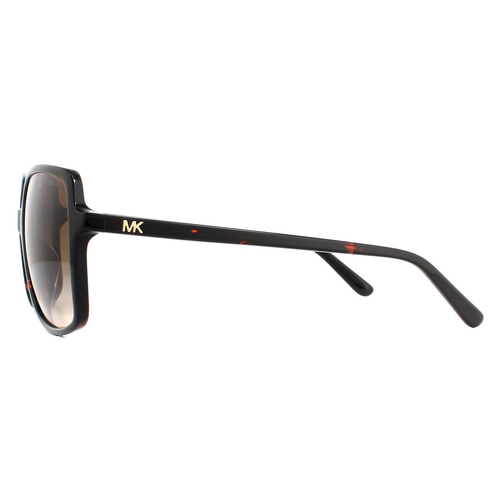 Michael Kors Sunglasses Isle of Palms MK2098U 378113 Dark Tortoise Smoke Gradient
