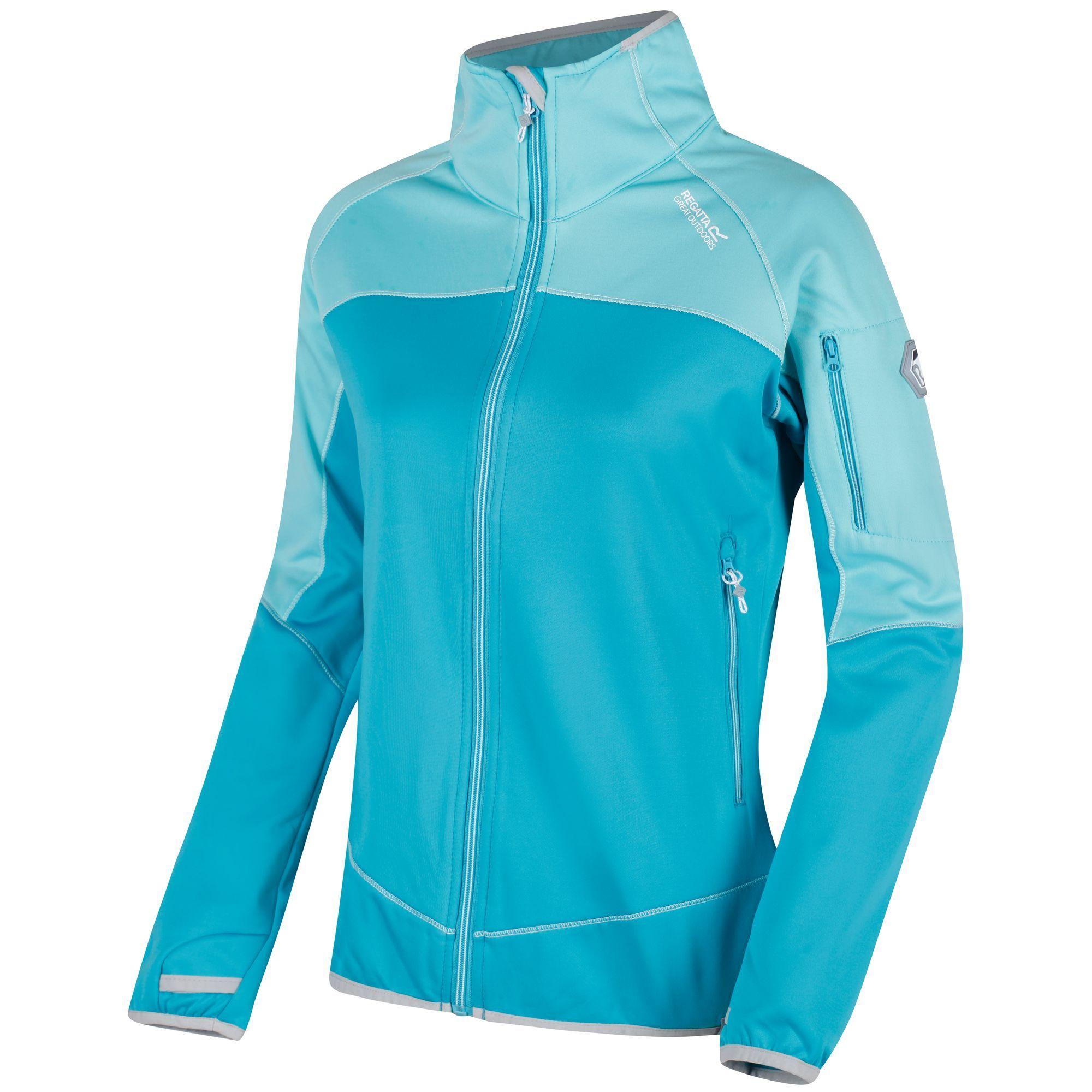 Regatta Great Outdoors Womens/Ladies Laney III Fleece Jacket (Aqua/Horizon)