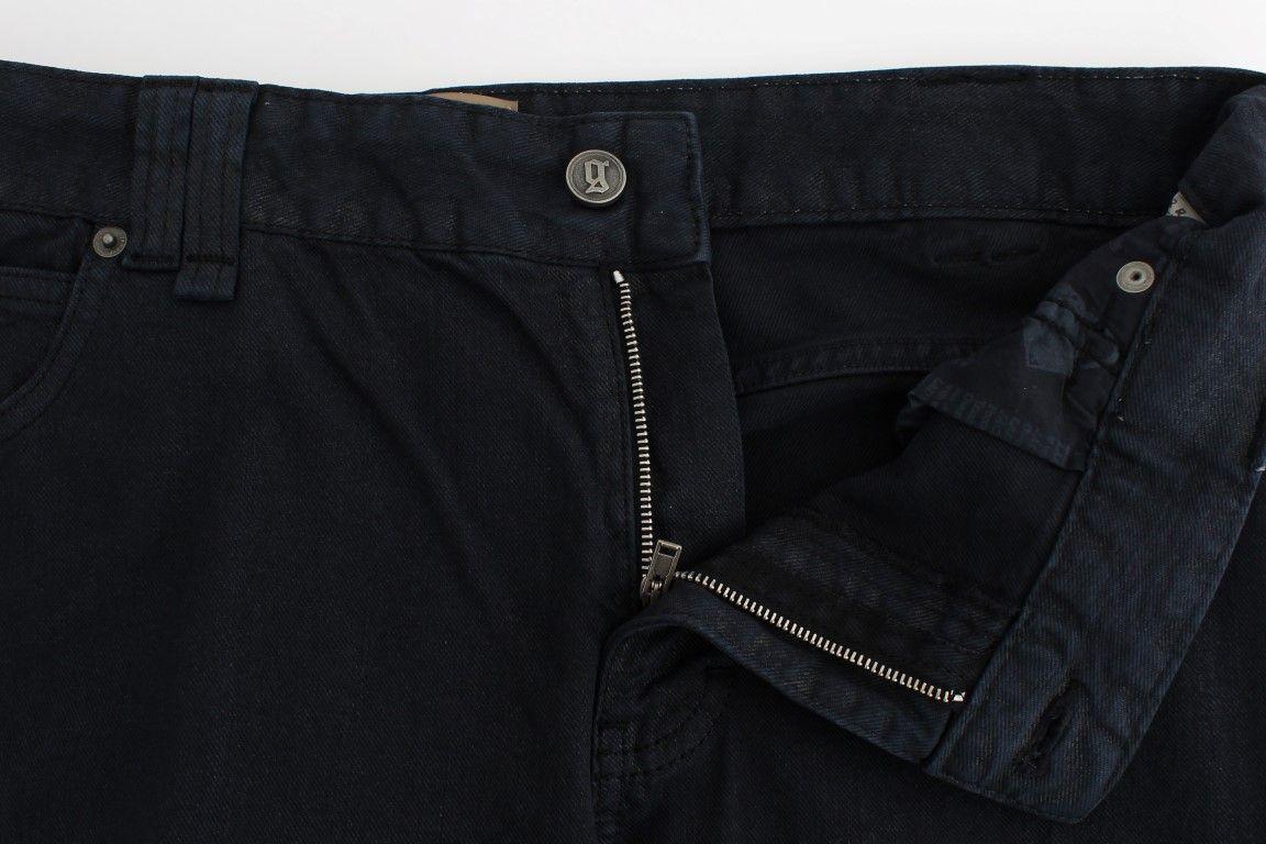 Galliano Darkblue cropped jeans