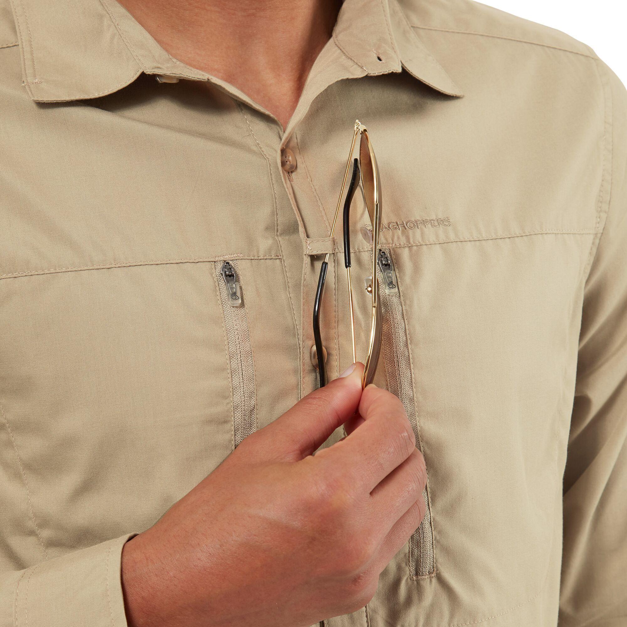 Craghoppers Mens Kiwi Boulder Shirt (Rubble)