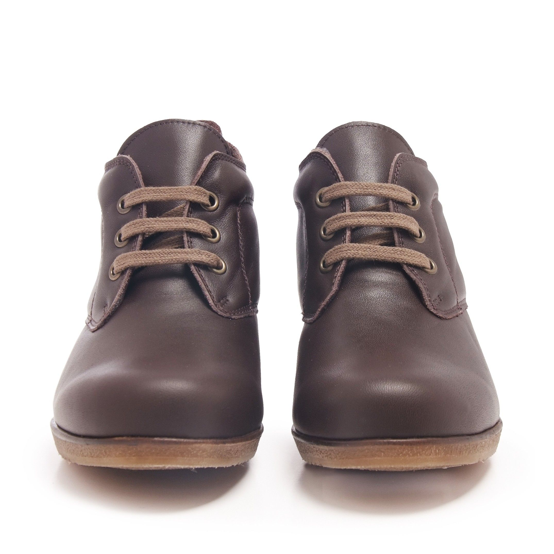Men's Lace Up Leather Booties
