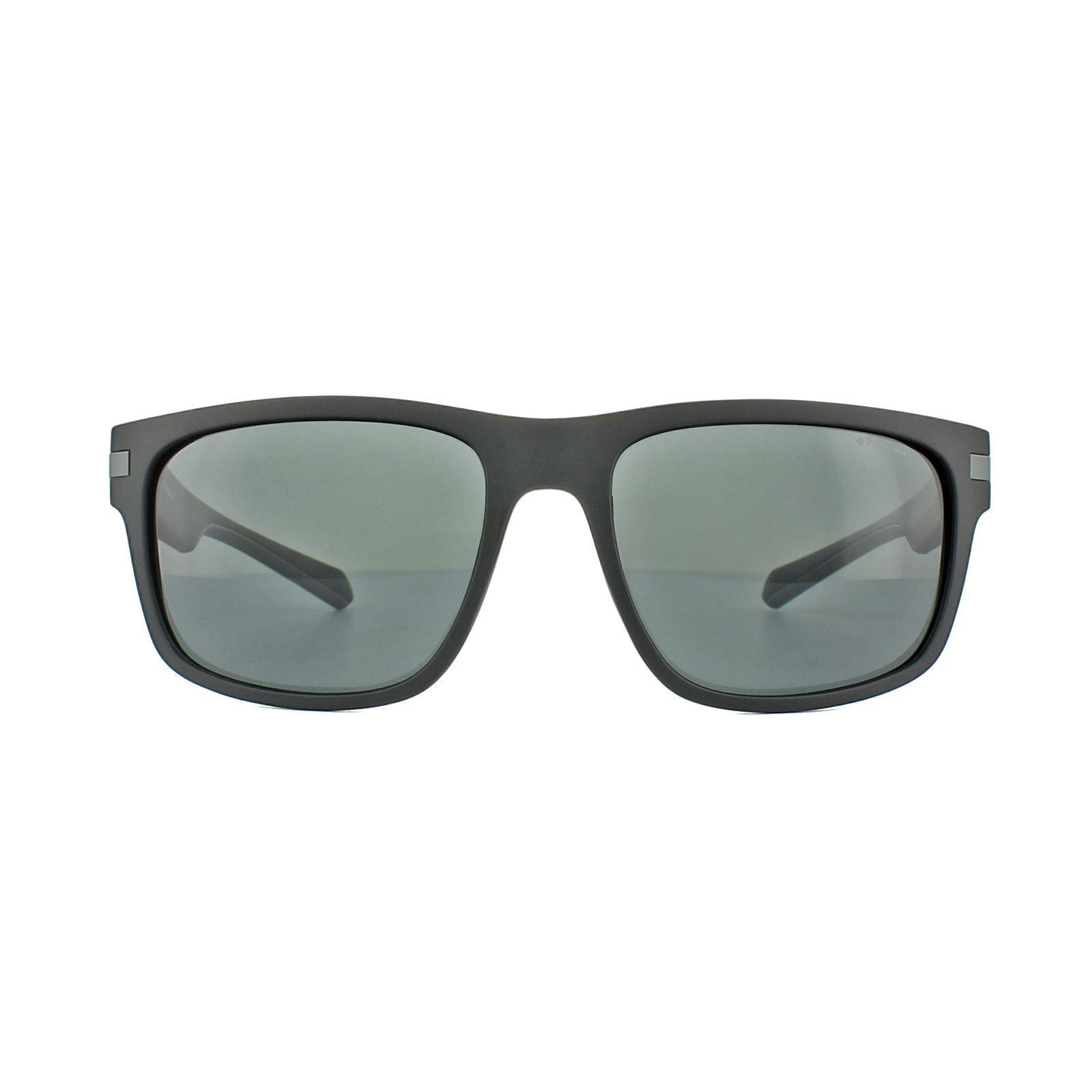Polaroid Sunglasses PLD 2066/S 003 M9 Matt Black Grey Polarized