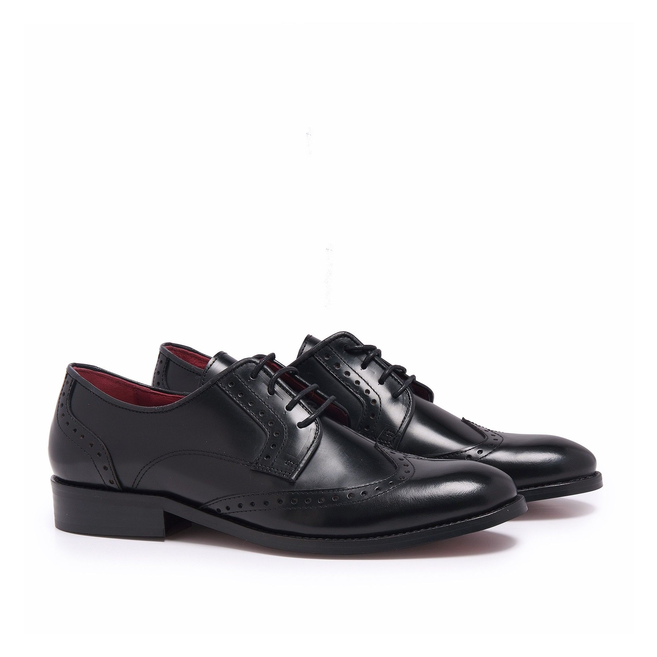Leather Blucher Shoes for Men Castellanisimos