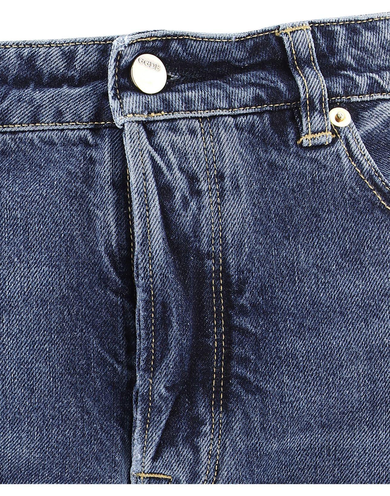 GOLDEN GOOSE MEN'S G34MP512B2 LIGHT BLUE COTTON PANTS
