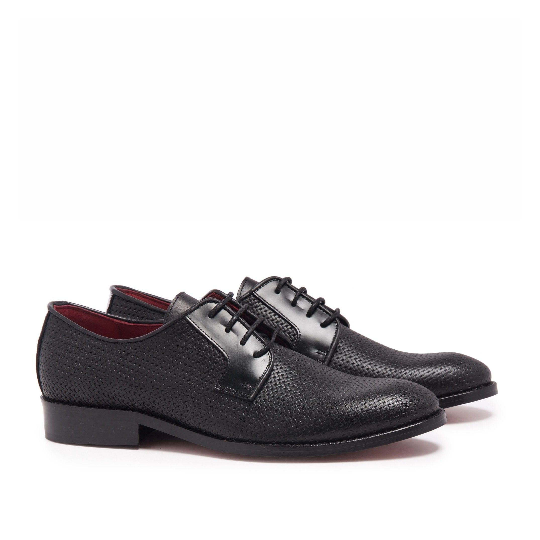 Leather Blucher Shoes for Men Castellanisimos