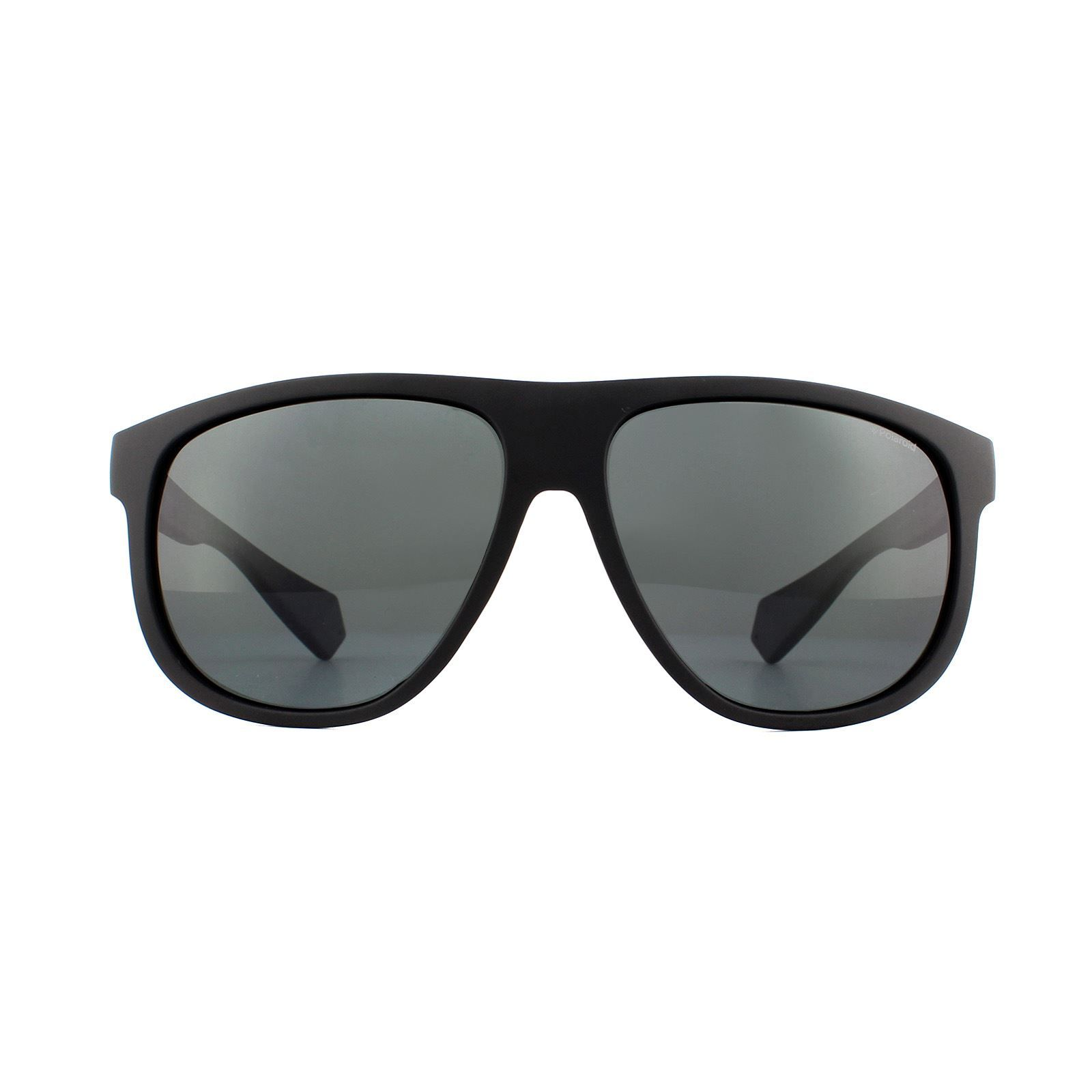 Polaroid Sunglasses PLD 2080/S 003 M9 Matte Black Grey Polarized