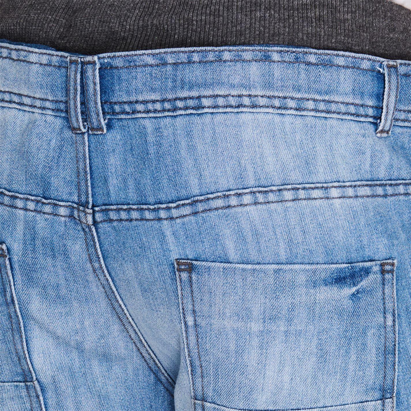 No Fear Mens  Double Waist Denim Shorts