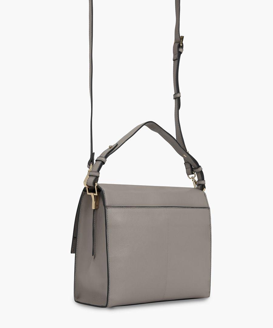 Tagliamento white leather bag