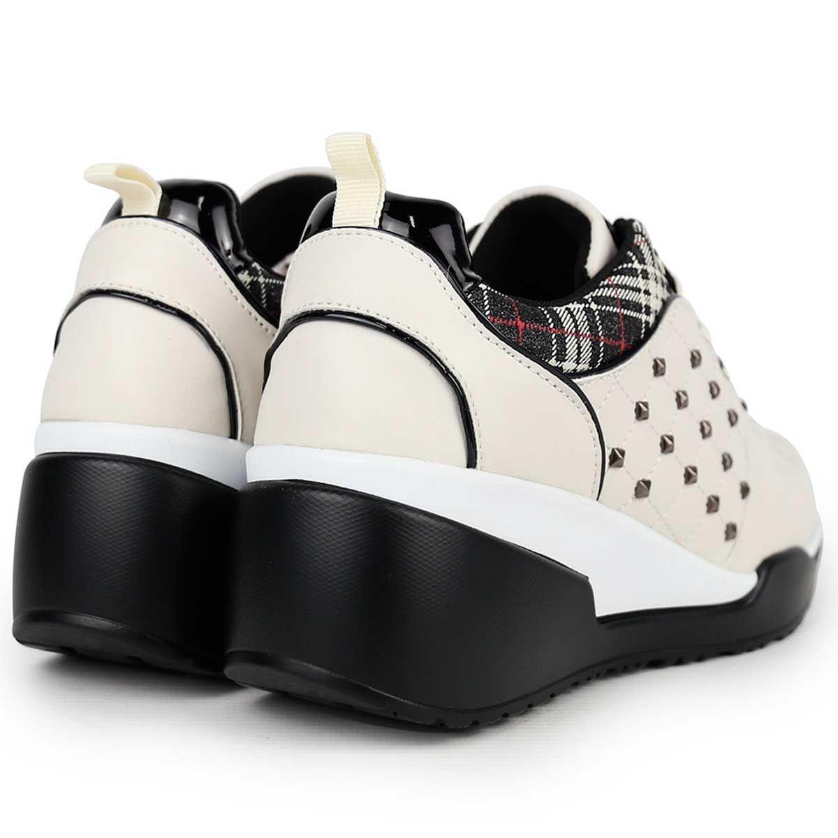 Montevita Chunky Sneaker in Beige