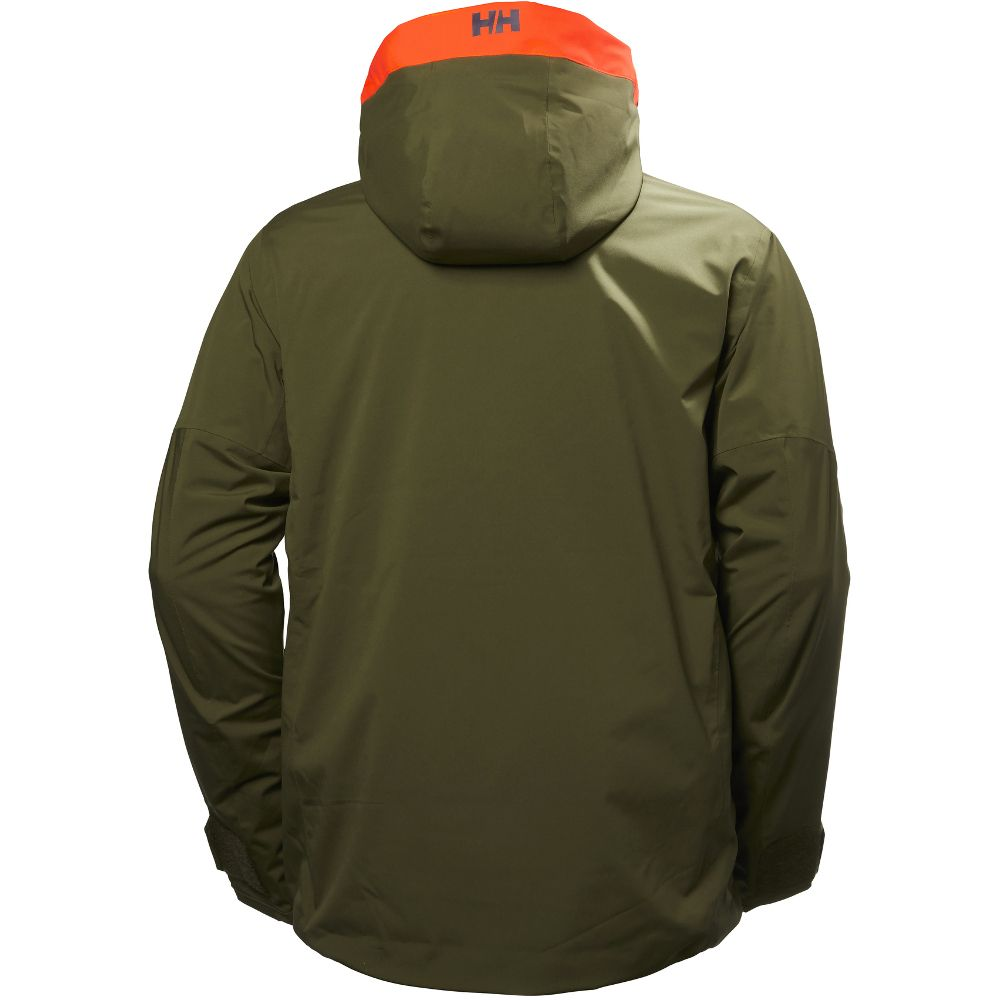 Helly Hansen Mens Sogn Soft Insulated Vented Freeride Jacket Top