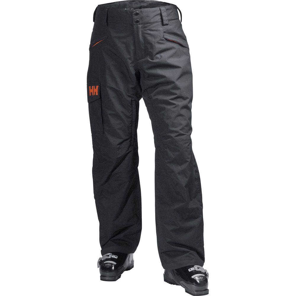 Helly Hansen Mens Sogn Waterproof Breathable Padded Cargo Ski Trousers