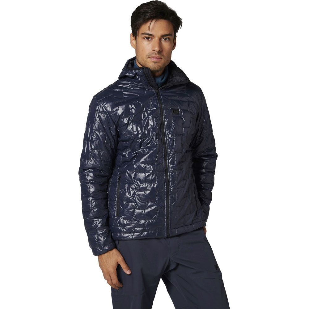 Helly Hansen Mens Lifaloft Hooded Windproof Insulated Jacket