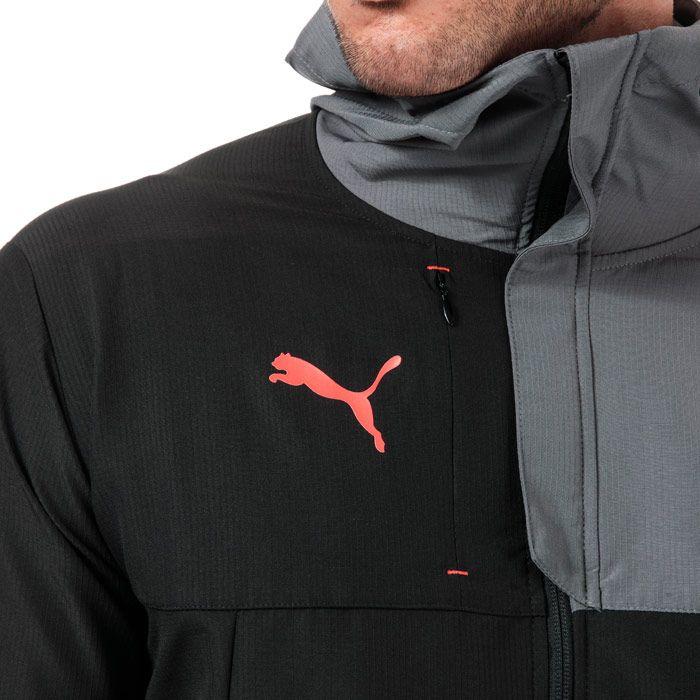 Men's Puma ftblNXT Pro Track Jacket in Black Grey