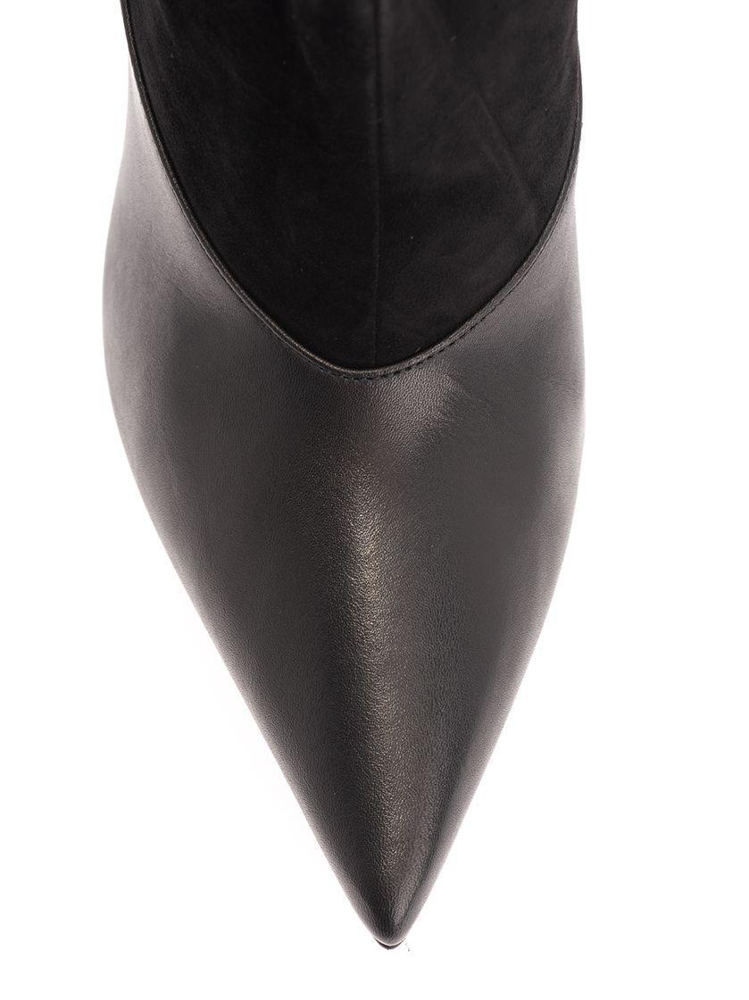 JIMMY CHOO WOMEN'S BRYNDIS100CFUBLACK BLACK SUEDE BOOTS
