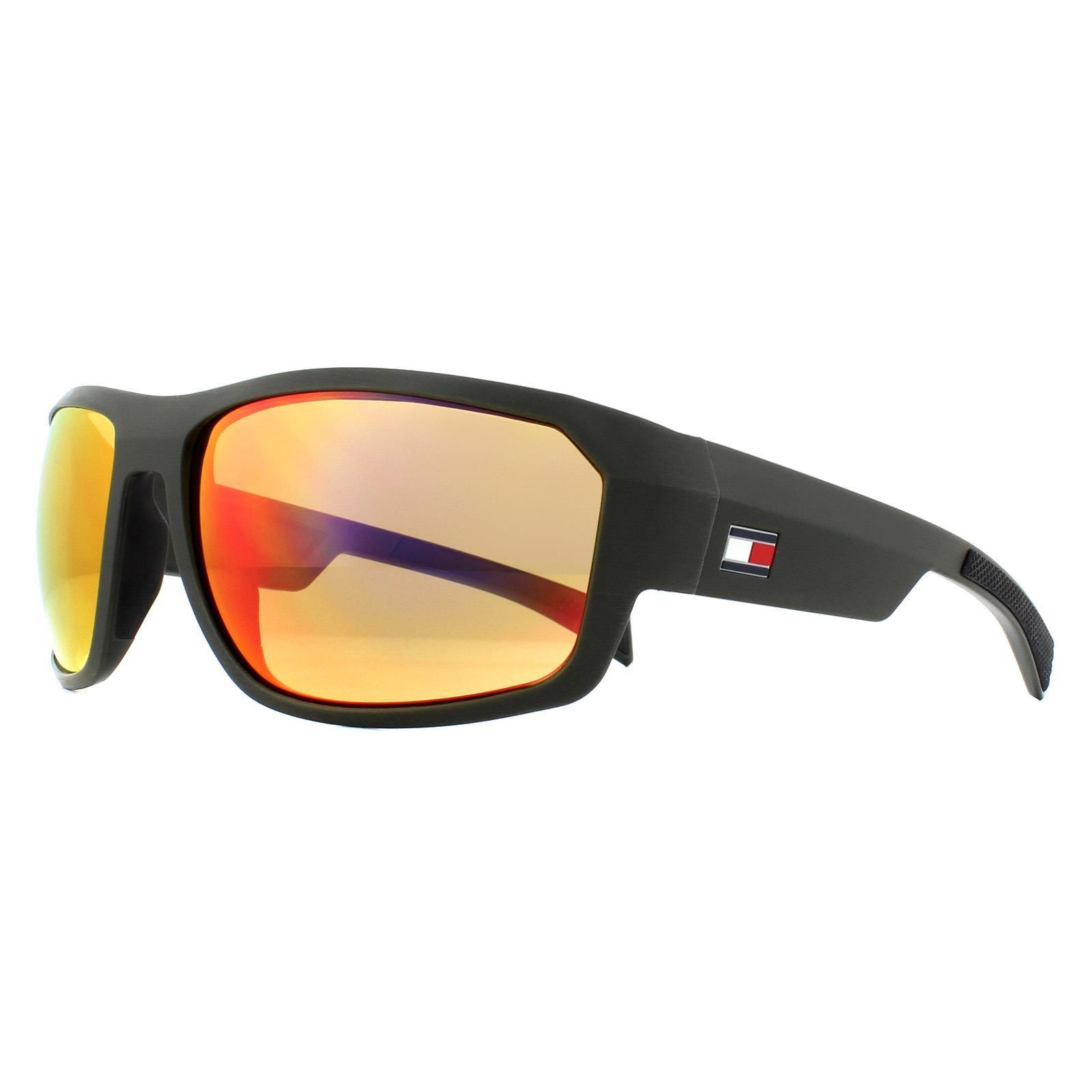 Tommy Hilfiger Sunglasses TH 1722/S WCN BJ Grey Black Dark Brown Infrared