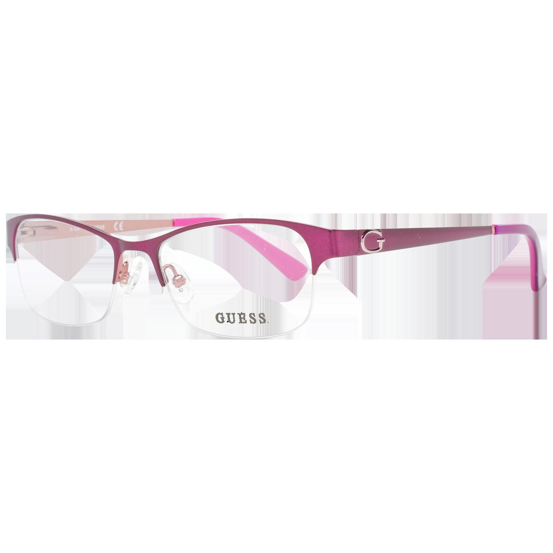 Guess Optical Frame GU2567 083 51 Women Purple