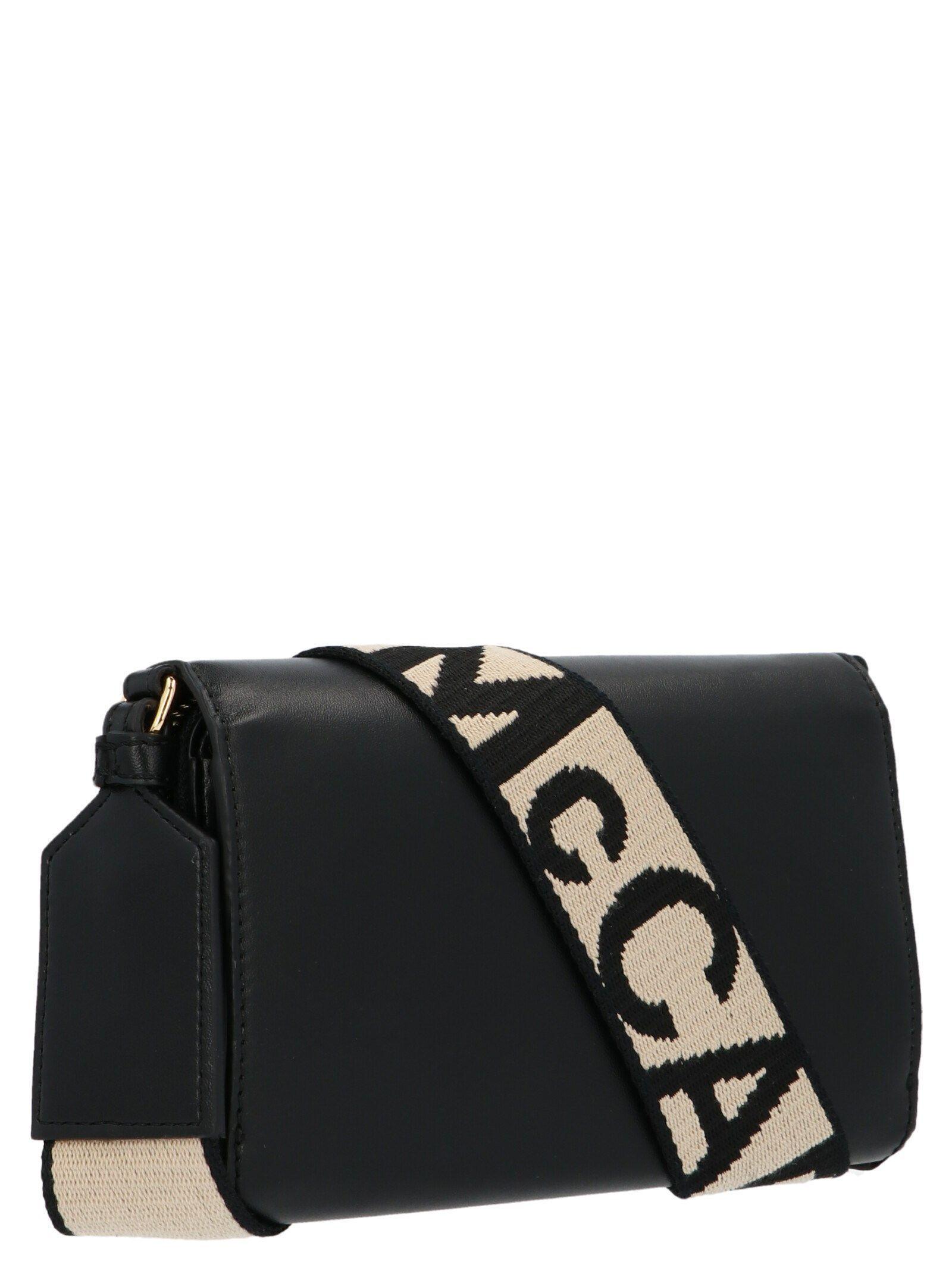 STELLA MCCARTNEY WOMEN'S 700013W85421000 BLACK POLYURETHANE SHOULDER BAG