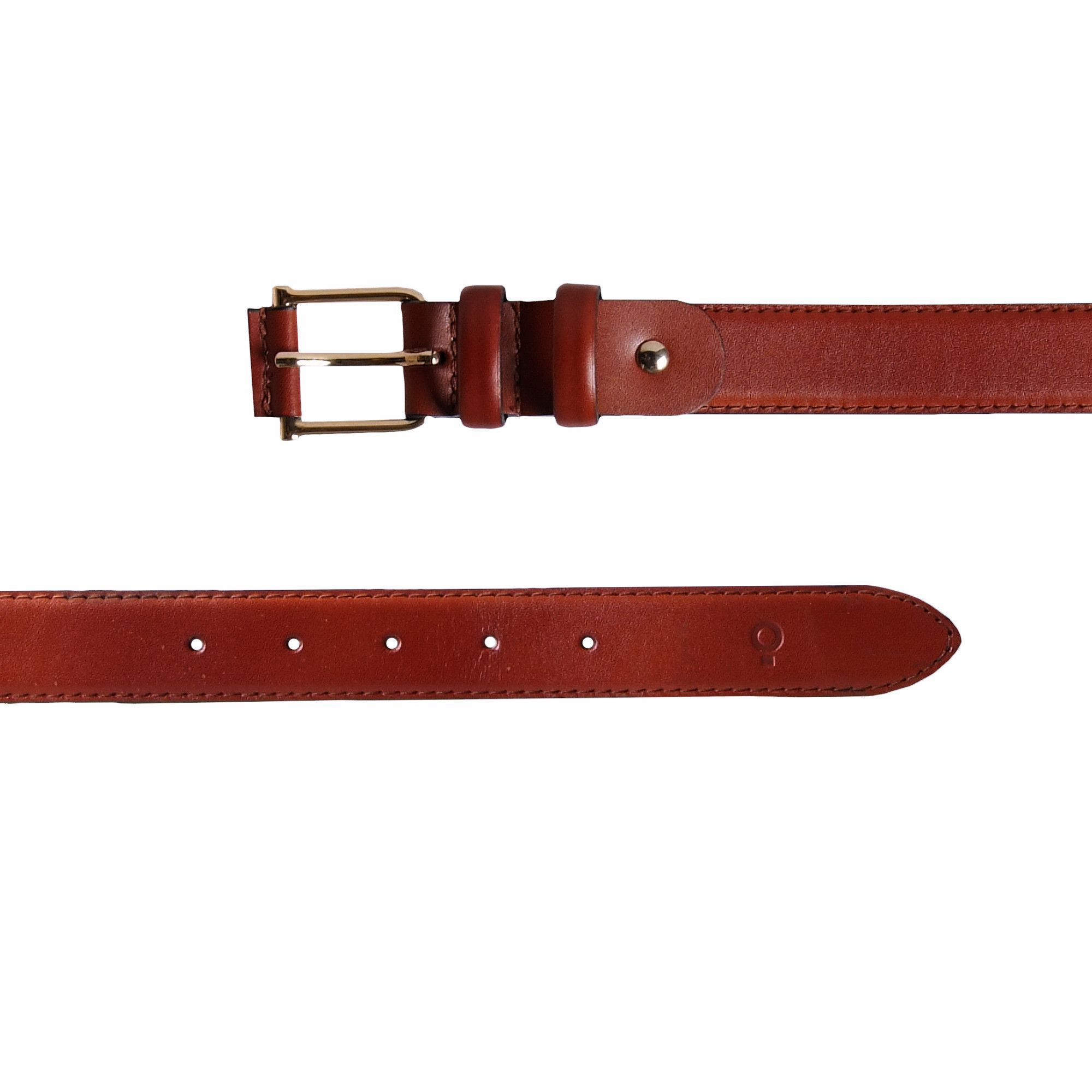 Womens Brown Leather Belt