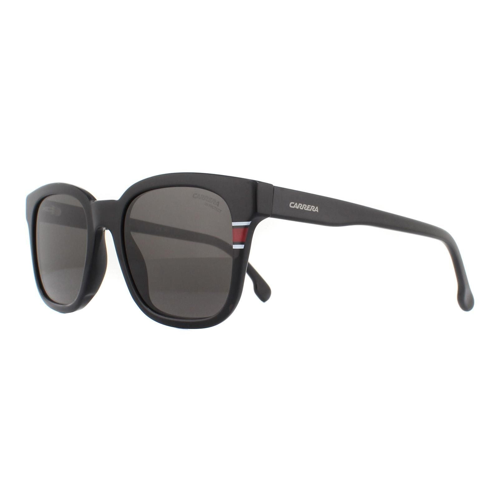 Carrera Sunglasses 164/S 807 IR Shiny Black Grey