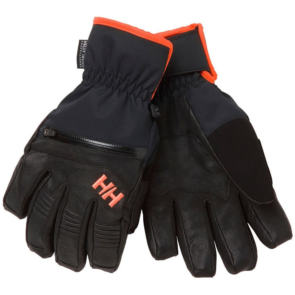 Helly Hansen Mens Alpha Warm HT Reinforced Winter Ski Gloves