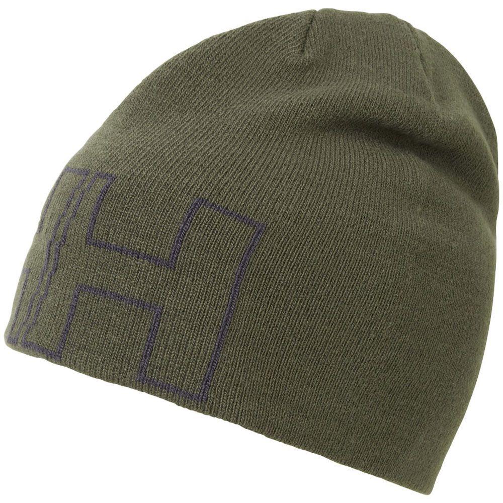 Helly Hansen Mens Outline Circular Jersey Knit Beanie Cap Hat