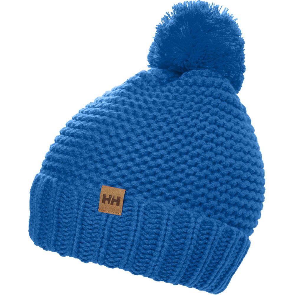 Helly Hansen Womens Calgary Chunky Knit Pom Pom Beanie Hat