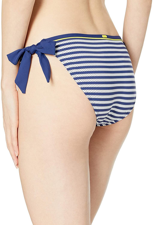 Cleo by Panache Women's Swimwear Blue Size Medium M Lucille Tie Side