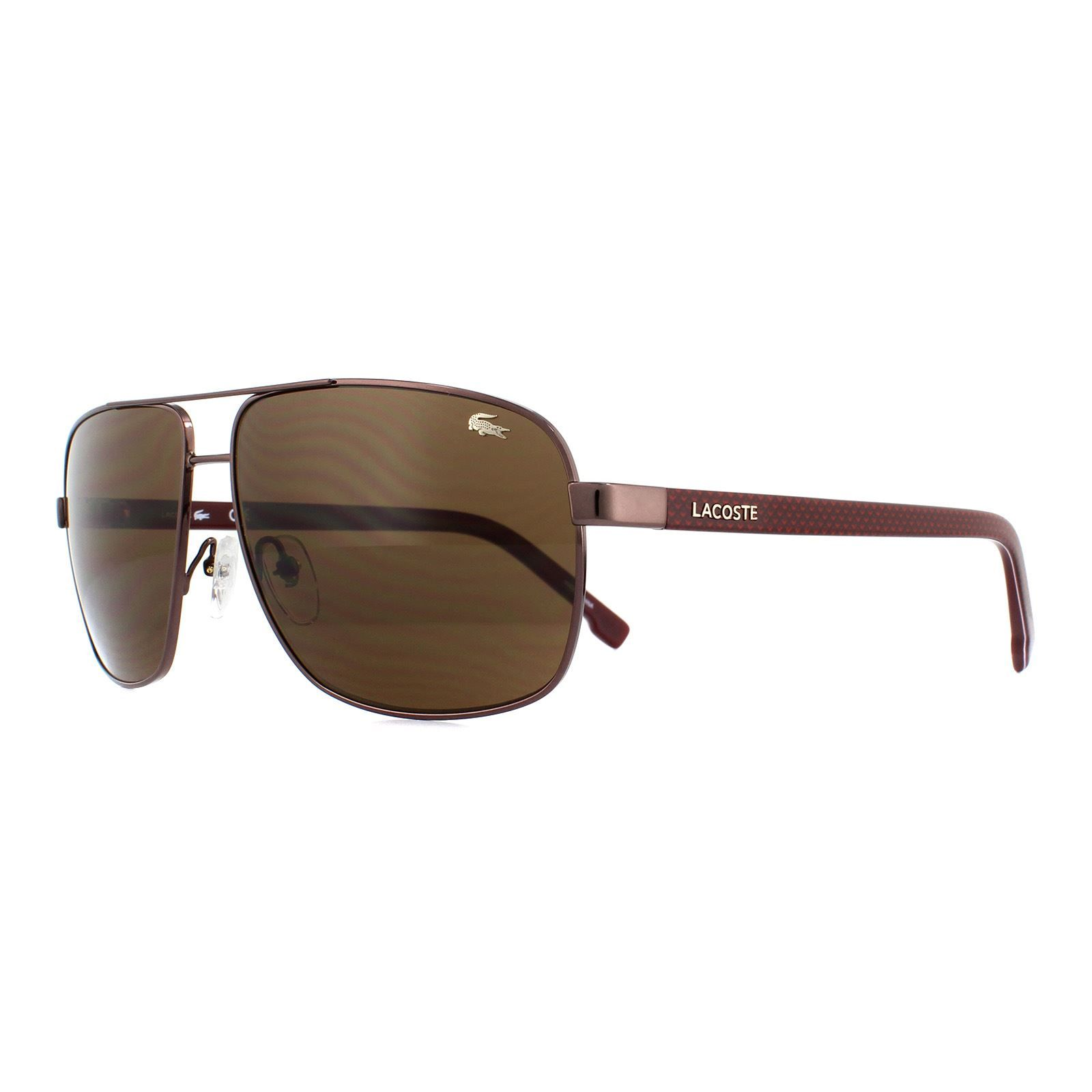 Lacoste Sunglasses L162S 210 Brown Brown Gradient