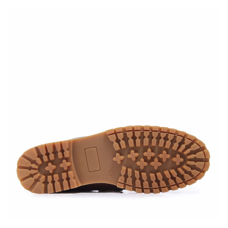Castellanísimos Leather Bordeaux Moccasins Boat Shoes For Men