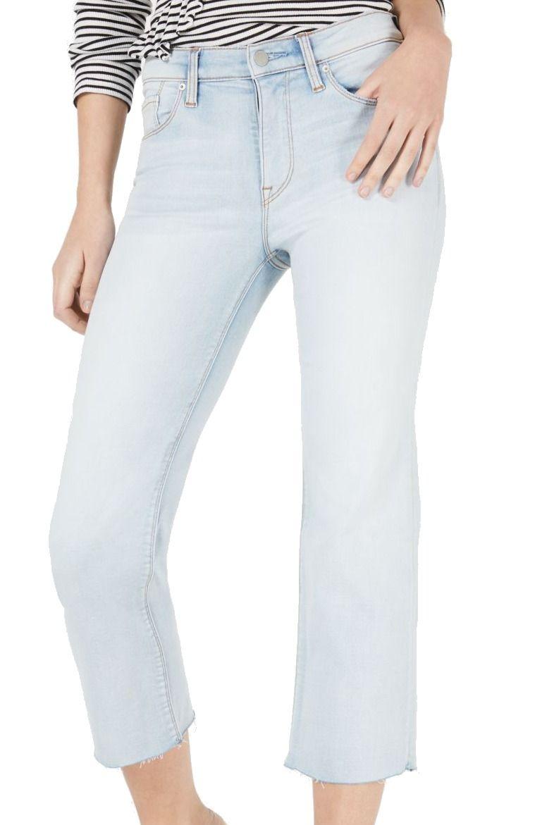 Hudson Women's Jeans Blue Size 29 Denim Light Wash Cropped Stretch