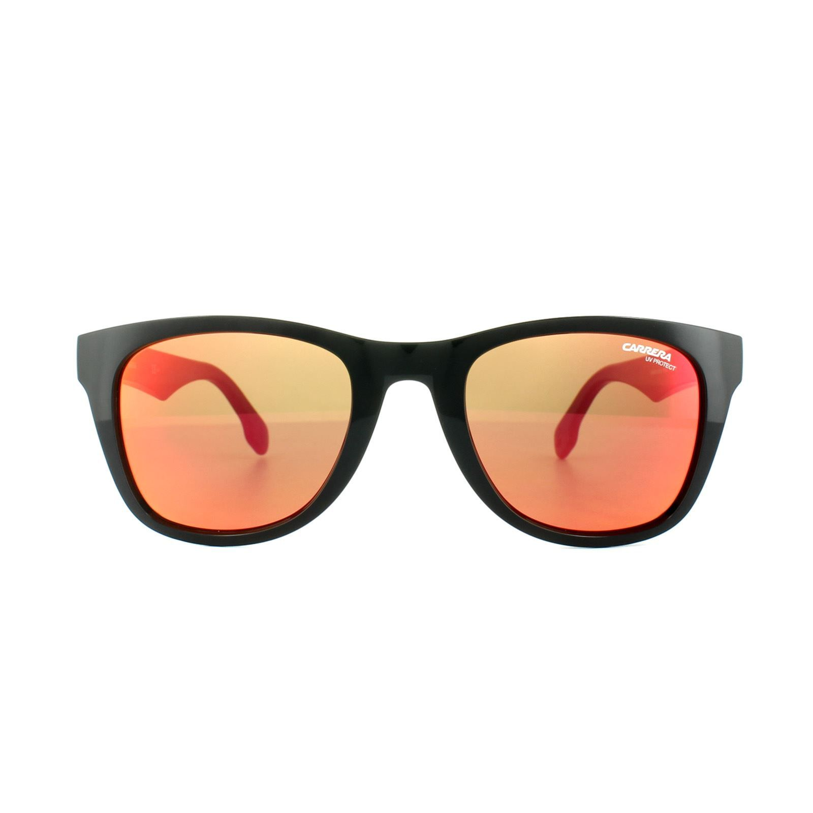 Carrera Sunglasses Carrera 5038/S PPR UZ Black Red Mirror