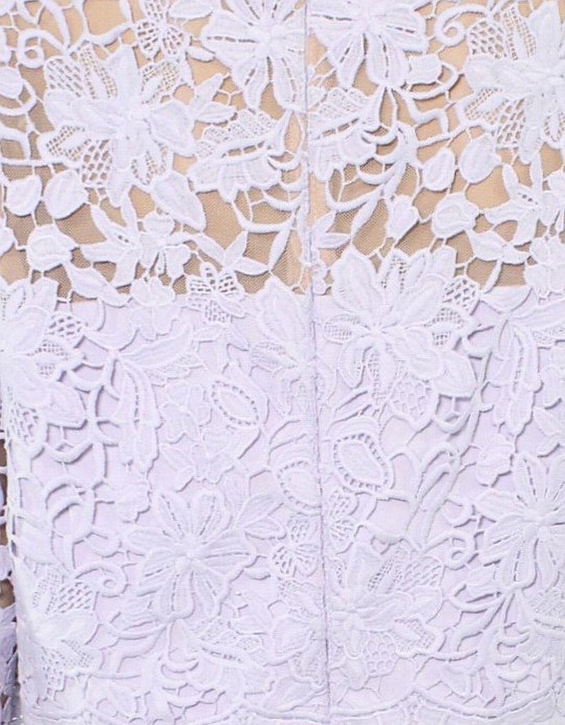 Lauren By Ralph Lauren Women's Dress Purple Size 0 Sheath Claire Lace