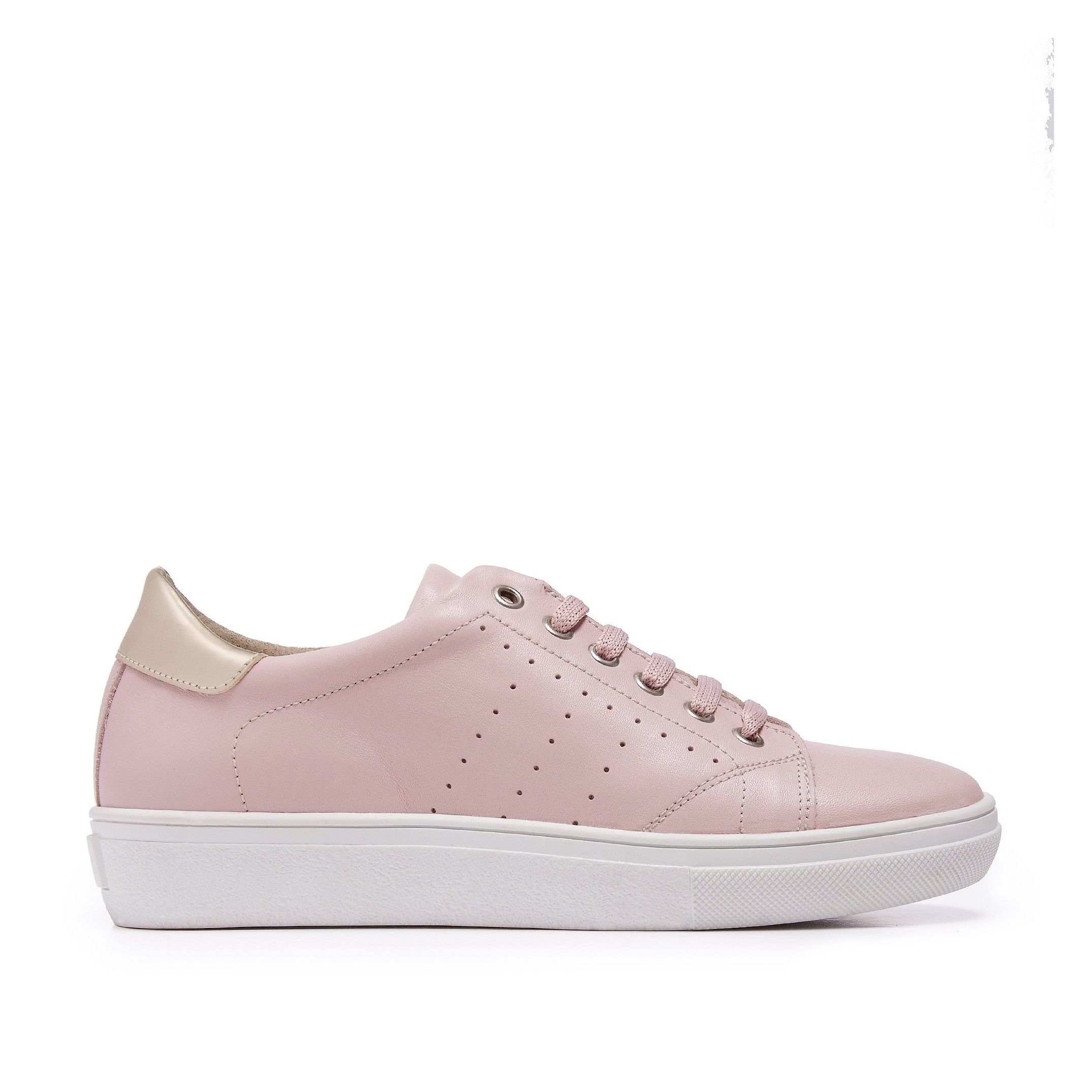 Classic Leather Sneakers Rose María Barceló