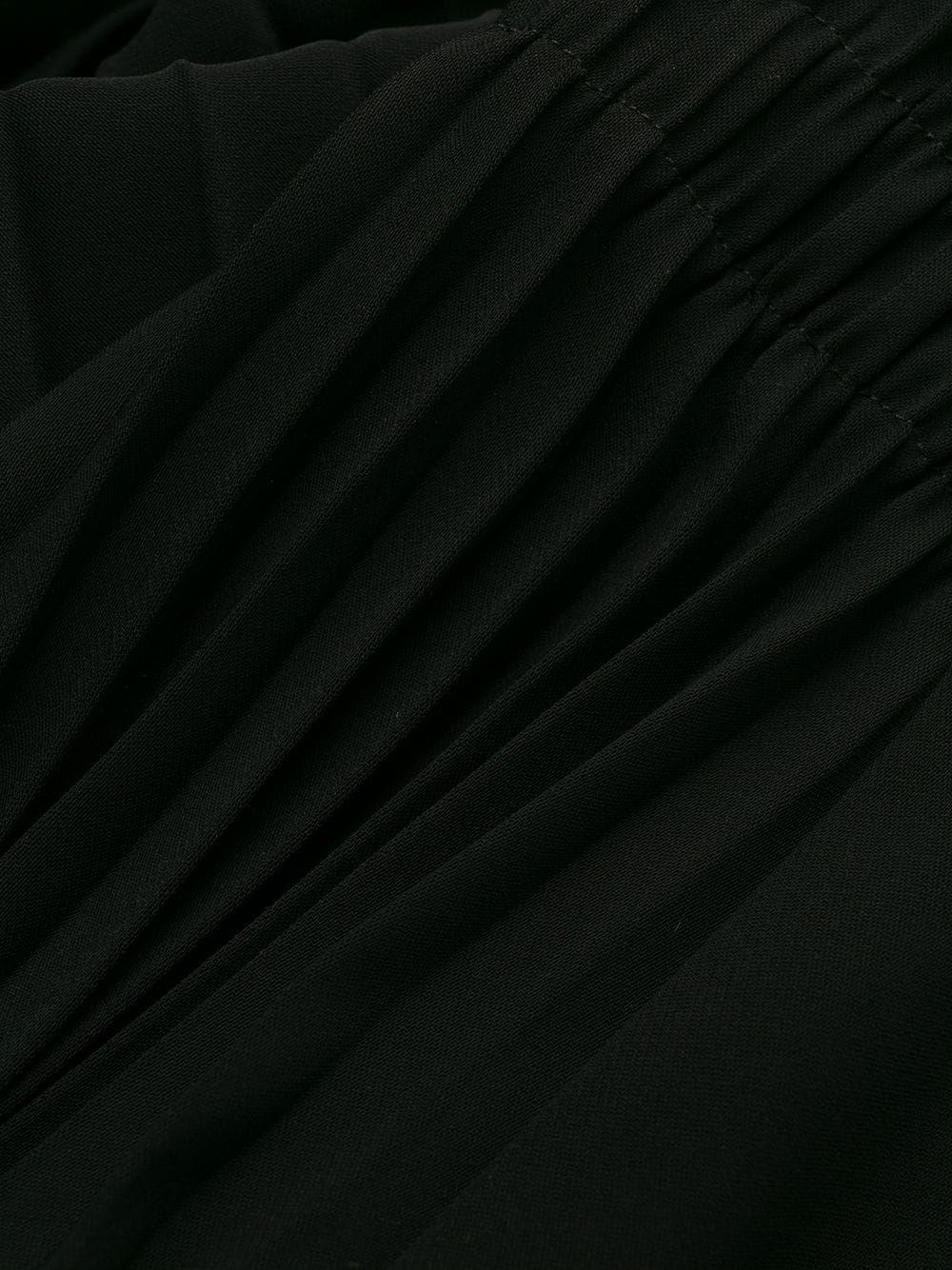 PINKO WOMEN'S 1G14A37628Z99 BLACK POLYESTER SKIRT