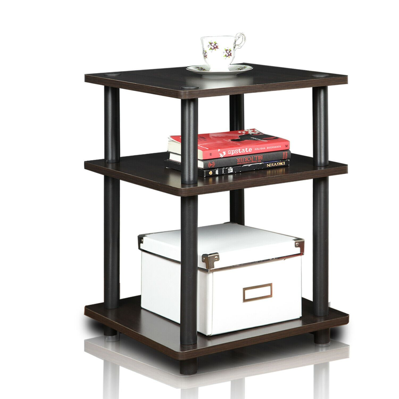 Furinno Turn-N-Tube Easy Assembly Multipurpose Shelf, Espresso