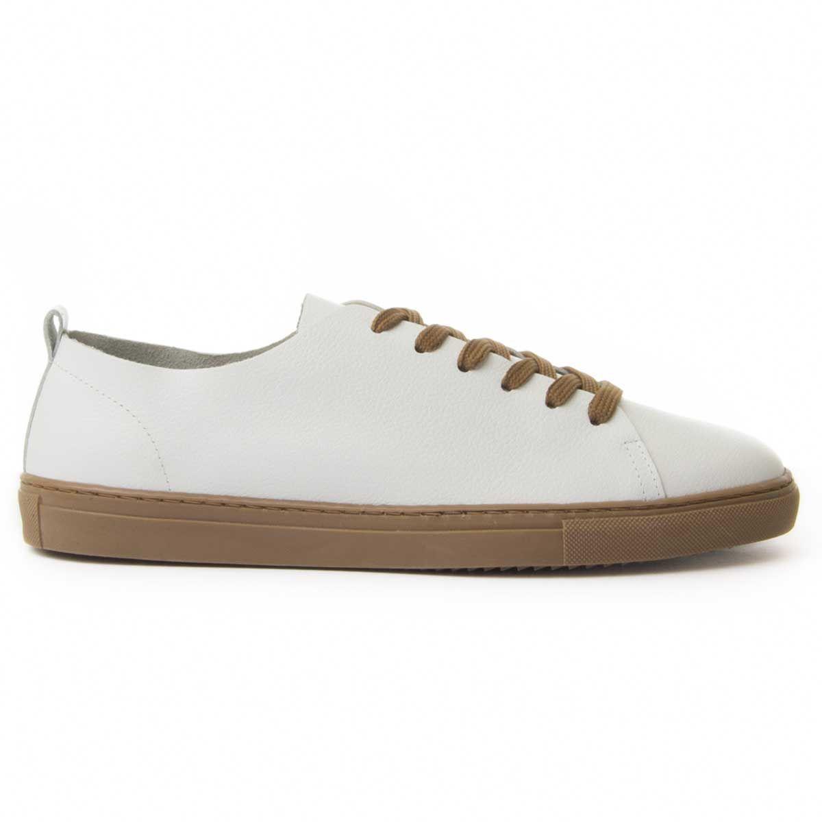 Montevita Leather Sneaker in White